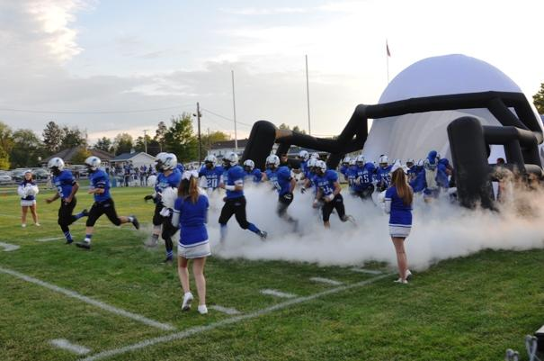 The Blue Jays take the field