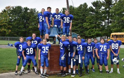 Jackson-Milton Middle School football is undefeated!