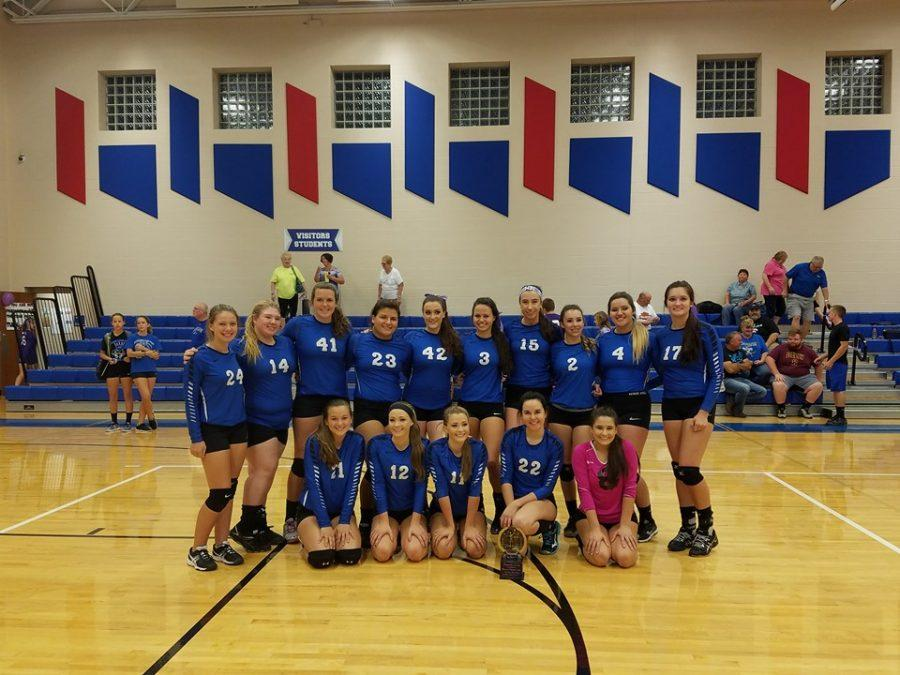 Lady Jays Volleyball captures a share of the ITCL Blue Tier Championship