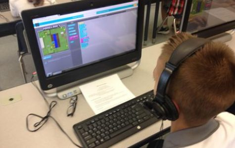 "JMES Students get with the ""program"" during new Coder Club"