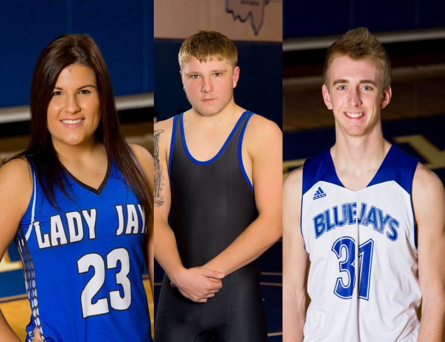 JM January 2017 Athletes of the Month:  Congratulations!
