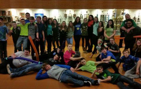 Middle School Student Council sponsors St. Patrick's Day dance