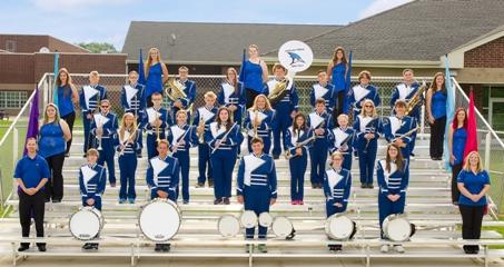 JM Band attends Hubbard Band Festival