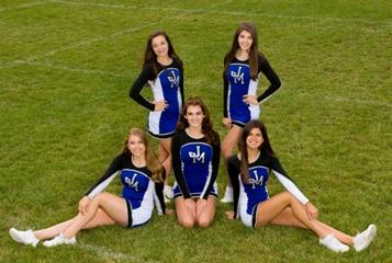 Cheerleaders have spirit...lets hear it!