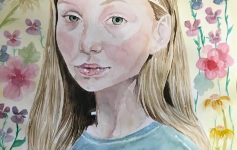Kalliope Ivari selected as finalist in Congressional Art Competition