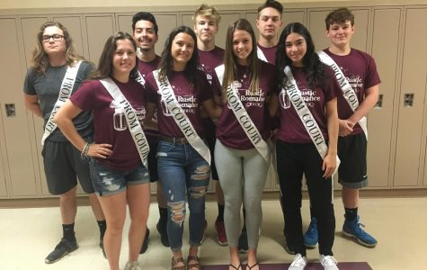 Royal court selected for 2019 Junior Prom