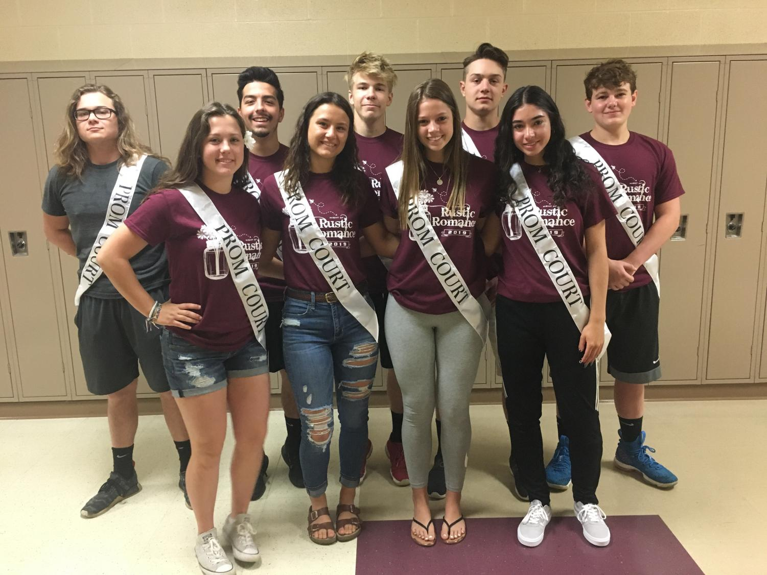 Back row: Shane Davis, Michael Liberato, Ryan Staton, Jakob Fay, and Logan Firby.  Front row: Alyssa Deak, Megan Fultz, Courtney Mercer, Rena Costello, (Not pictured Kaylee Rader, MCCTC)