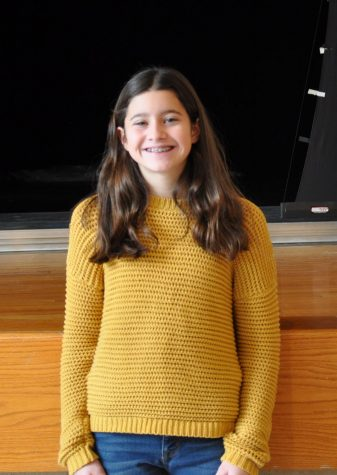 Congratulations to Middle School Spelling Bee Champion: Kristen Campbell