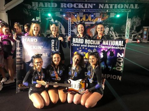 JM Cheer Team takes 1st place at Hard Rockin