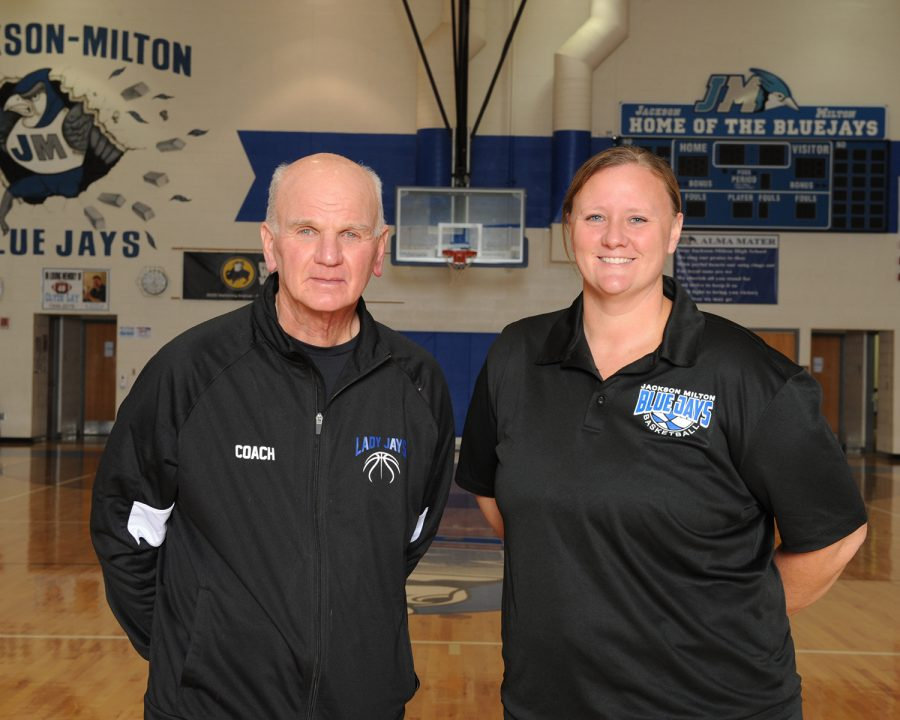 Coach Keney gets win 400 with Lady Jays Basketball