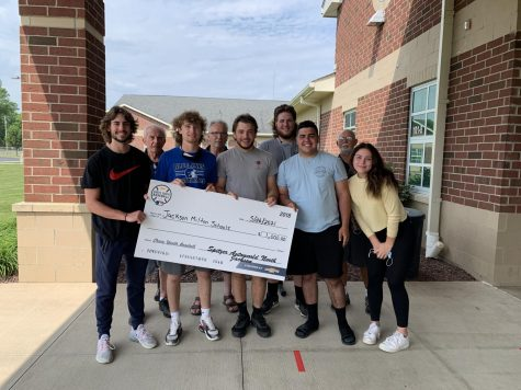 Spitzer provides another generous donation to JMHS